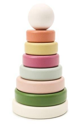 Детского игрушка пирамидка edvin KID`S CONCEPT разноцветного цвета, арт. 1000453 | Фото 1