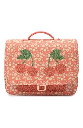 Детская портфель mini miss daisy JEUNE PREMIER кораллового цвета, арт. Itn21166   Фото 1
