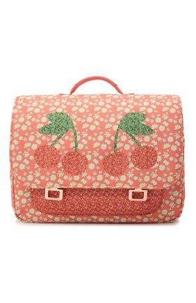 Детская портфель midi miss daisy JEUNE PREMIER кораллового цвета, арт. Itd21166   Фото 1