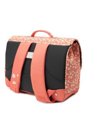 Детская портфель midi miss daisy JEUNE PREMIER кораллового цвета, арт. Itd21166   Фото 2