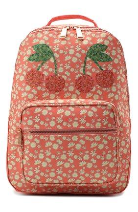 Детская рюкзак bobbie miss daisy JEUNE PREMIER кораллового цвета, арт. Bo021166   Фото 1