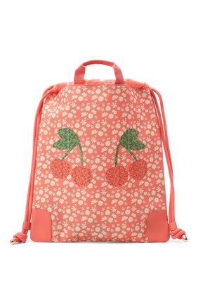 Детская сумка city bag miss daisy JEUNE PREMIER кораллового цвета, арт. Ci021166   Фото 1