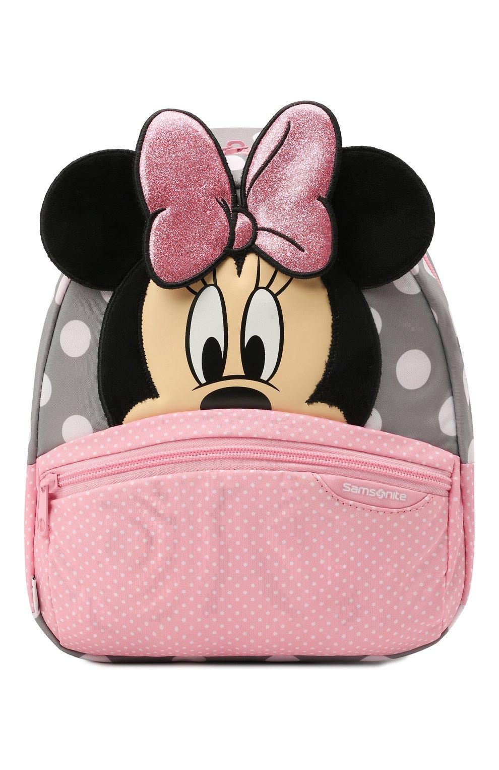 Детская рюкзак disney ultimate 2.0 SAMSONITE розового цвета, арт. 40C-90001 | Фото 1 (Материал: Текстиль)