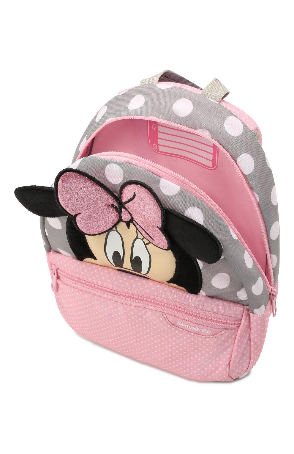 Детская рюкзак disney ultimate 2.0 SAMSONITE розового цвета, арт. 40C-90001 | Фото 3 (Материал: Текстиль)