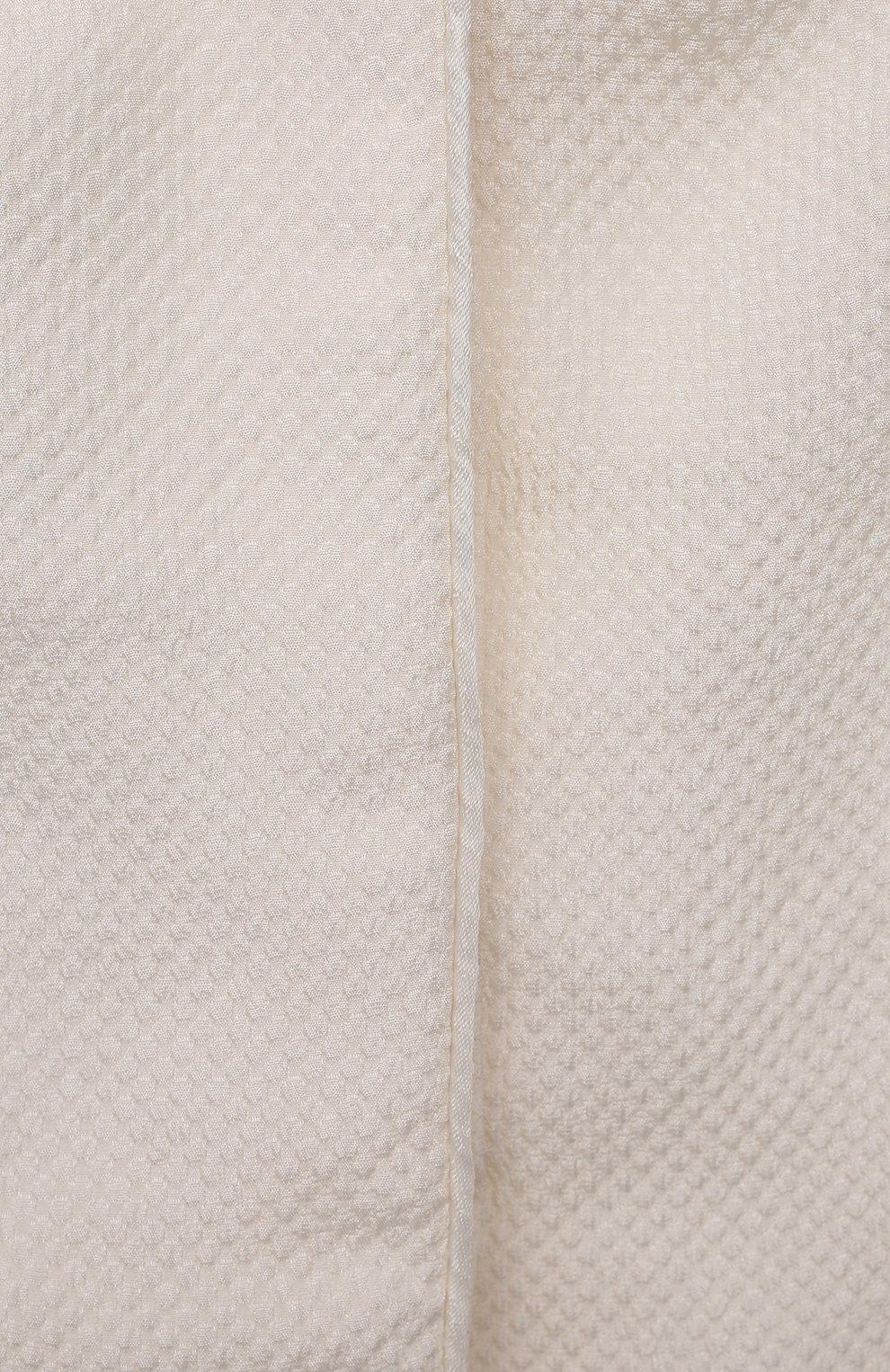 Детского комплект из семи изделий кружевной premium CHEPE кремвого цвета, арт. 351388   Фото 4 (Материал внешний: Хлопок; Ростовка одежда: 3 мес   62 см)