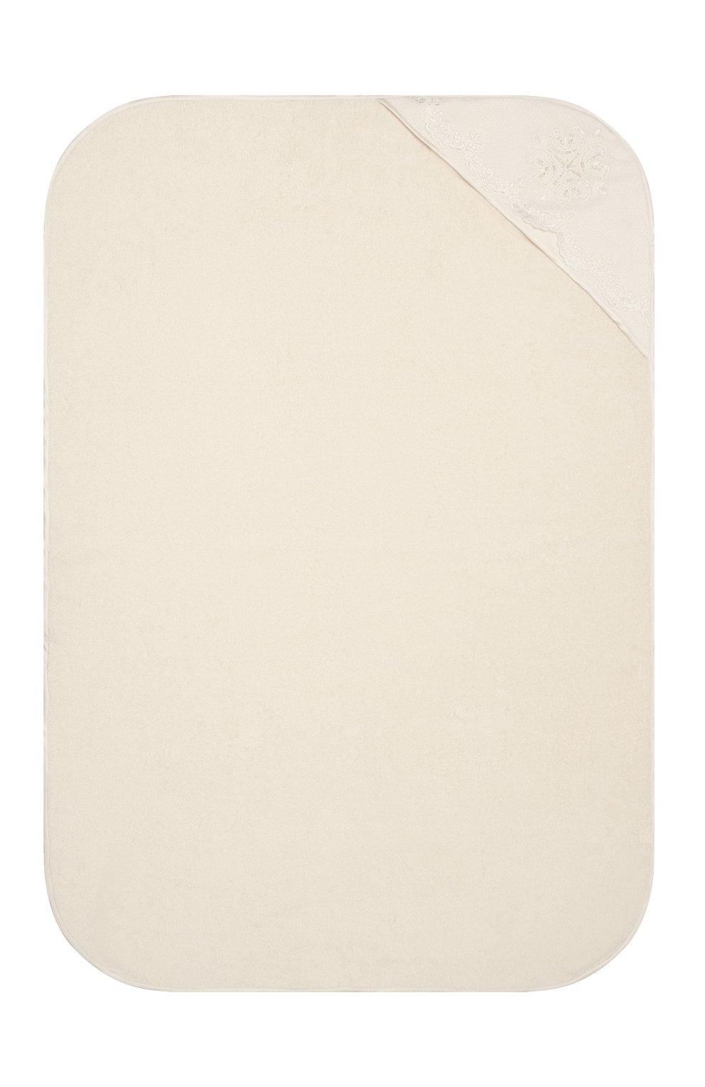 Детского комплект из семи изделий кружевной premium CHEPE кремвого цвета, арт. 351388   Фото 7 (Материал внешний: Хлопок; Ростовка одежда: 3 мес   62 см)