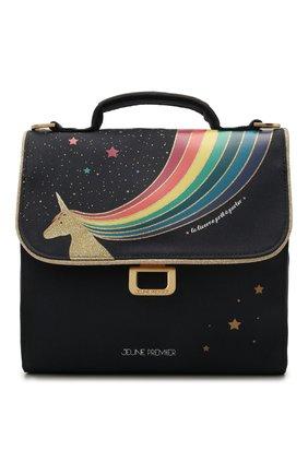 Детская сумка unicorn gold JEUNE PREMIER темно-синего цвета, арт. Lun20129   Фото 1