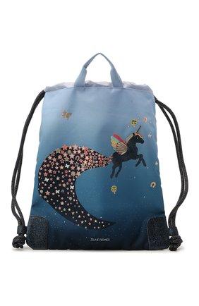 Детская сумка unicorn universe JEUNE PREMIER синего цвета, арт. Ci021176   Фото 1