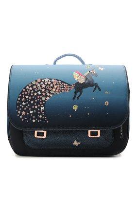 Детская портфель maxi unicorn universe JEUNE PREMIER синего цвета, арт. Itx21176   Фото 1