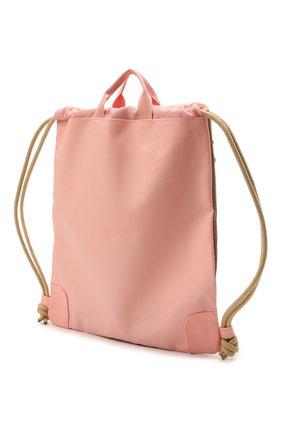 Детская сумка cherry pompon JEUNE PREMIER золотого цвета, арт. Ci021127   Фото 2