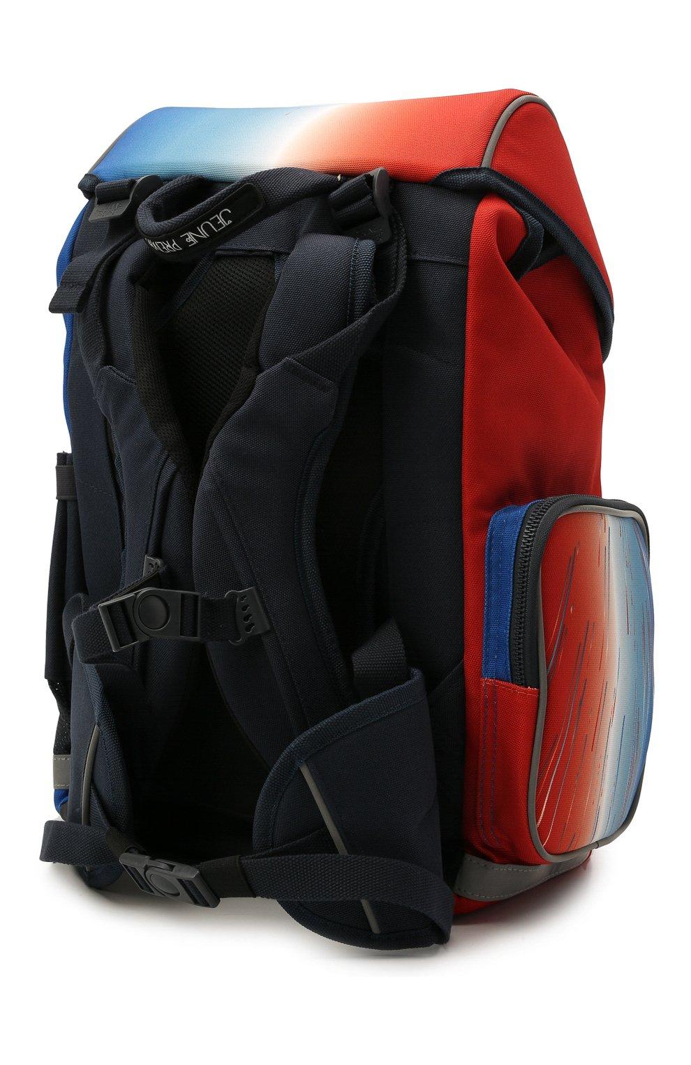 Детская рюкзак maxi racing club JEUNE PREMIER разноцветного цвета, арт. Erx21171   Фото 2 (Материал: Текстиль)