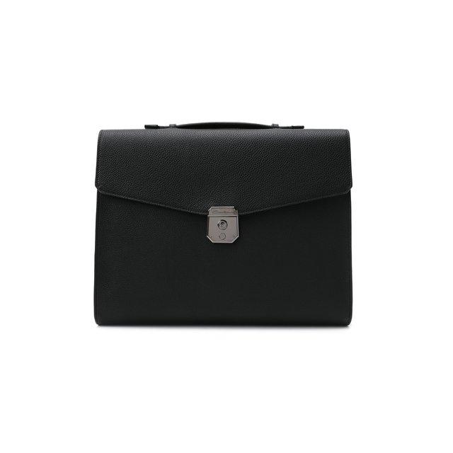 Кожаный портфель Santoni