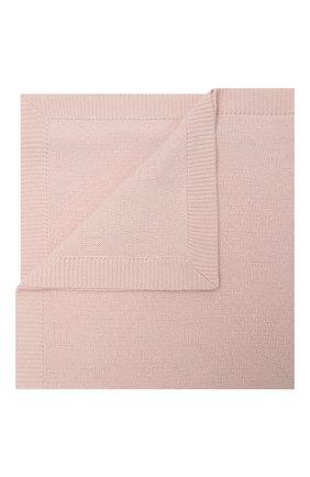Детского кашемировое одеяло GUCCI розового цвета, арт. 660681/3KAAG   Фото 1