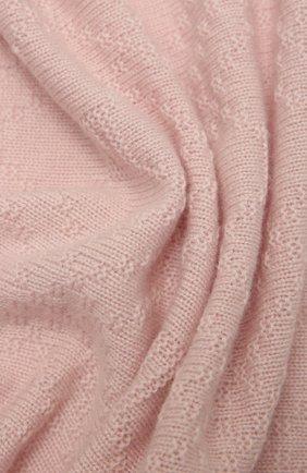 Детского кашемировое одеяло GUCCI розового цвета, арт. 660681/3KAAG   Фото 2