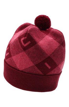 Детского шерстяная шапка GUCCI розового цвета, арт. 658601/4K206 | Фото 2