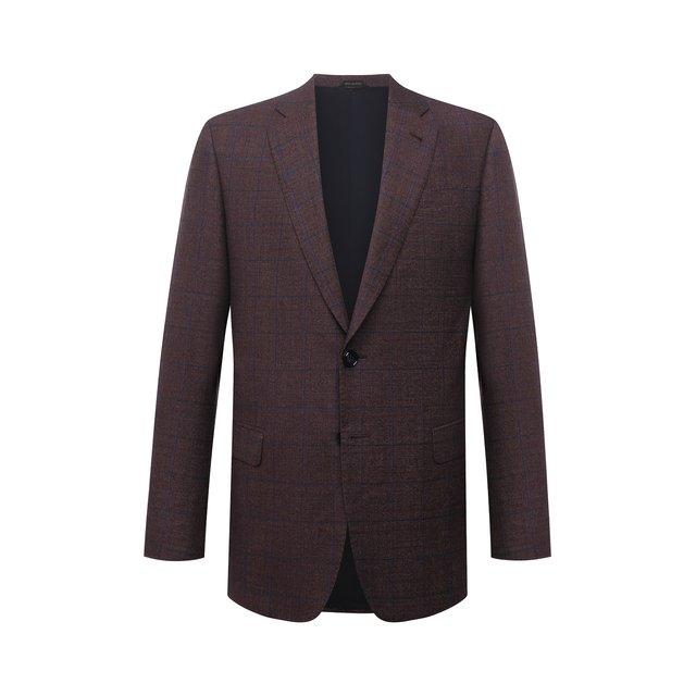 Пиджак из шерсти и кашемира Giorgio Armani