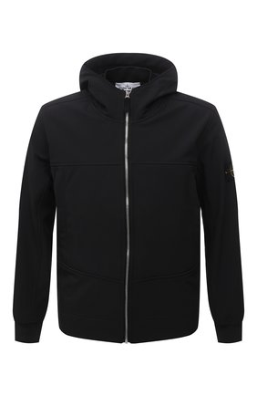 Мужская куртка STONE ISLAND черного цвета, арт. 7515Q0122 | Фото 1
