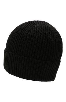 Мужская шапка MARCELO BURLON черного цвета, арт. CMLC007F21KNI001 | Фото 2