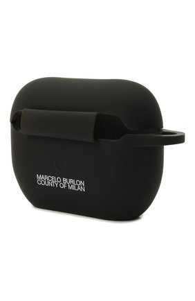 Чехол для airpods pro MARCELO BURLON черного цвета, арт. CMZG017F21PLA001   Фото 2