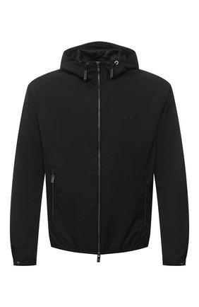 Мужская куртка EMPORIO ARMANI черного цвета, арт. 8N1BQ0/1NZQZ | Фото 1