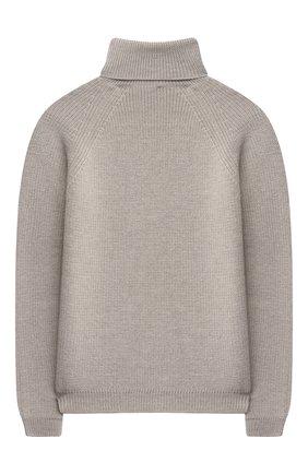 Детский шерстяной свитер DAL LAGO бежевого цвета, арт. W532/9117/13-16 | Фото 2 (Материал внешний: Шерсть; Рукава: Длинные; Мальчики Кросс-КТ: Пуловер-одежда; Ростовка одежда: 13 - 15 лет | 158 см, 16 лет | 164 см)