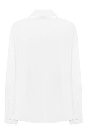 Детская хлопковая рубашка DAL LAGO белого цвета, арт. N402/9133/13-16 | Фото 2