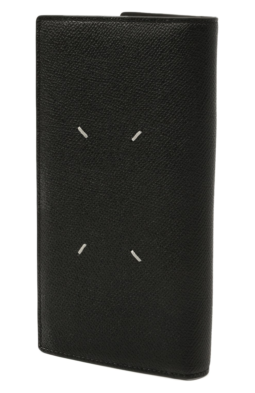 Мужской кожаное портмоне MAISON MARGIELA черного цвета, арт. S55UI0202/P0399 | Фото 2
