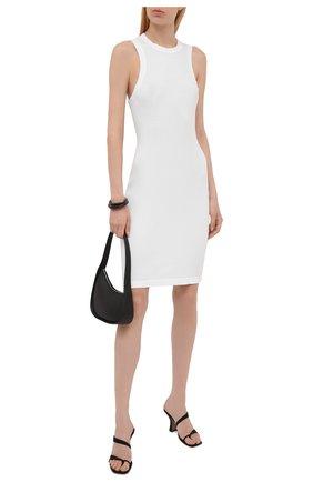 Женское хлопковое платье JAMES PERSE белого цвета, арт. WRTJ6617 | Фото 2