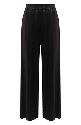 Женские кожаные брюки DROME черного цвета, арт. DPD7048P/D400P   Фото 1