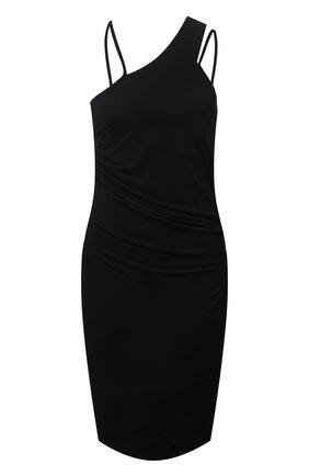 Женское платье из вискозы HELMUT LANG черного цвета, арт. L04HW601 | Фото 1