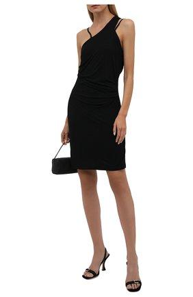 Женское платье из вискозы HELMUT LANG черного цвета, арт. L04HW601 | Фото 2