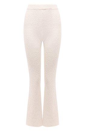 Женские брюки HELMUT LANG кремвого цвета, арт. L04HW710 | Фото 1