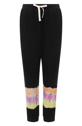 Женские хлопковые джоггеры ELECTRIC&ROSE разноцветного цвета, арт. LFBT28-S0NIC | Фото 1 (Материал внешний: Хлопок; Длина (брюки, джинсы): Стандартные; Стили: Спорт-шик; Женское Кросс-КТ: Джоггеры - брюки, Брюки-спорт; Силуэт Ж (брюки и джинсы): Джоггеры)