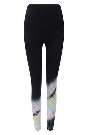 Женские леггинсы ELECTRIC&ROSE разноцветного цвета, арт. AWLG11-BEAM | Фото 1 (Материал внешний: Хлопок; Стили: Спорт-шик; Женское Кросс-КТ: Леггинсы-спорт; Длина (брюки, джинсы): Стандартные)