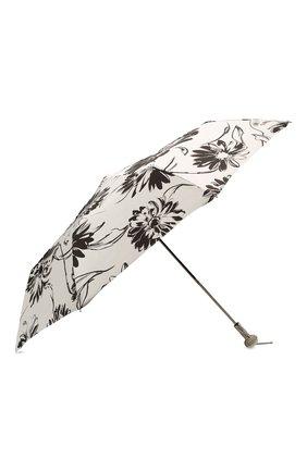 Женский складной зонт PASOTTI OMBRELLI черно-белого цвета, арт. 257/RAS0 56799/1/A29 | Фото 2