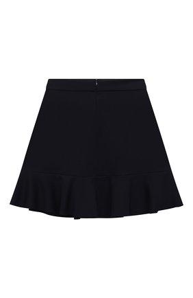 Детская юбка DAL LAGO темно-синего цвета, арт. R306A/8111/4-6 | Фото 2