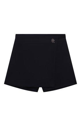 Детские юбка-шорты DAL LAGO темно-синего цвета, арт. R264/8111/7-12   Фото 1
