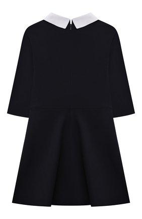 Детское платье DAL LAGO темно-синего цвета, арт. R256/8111/7-12   Фото 2