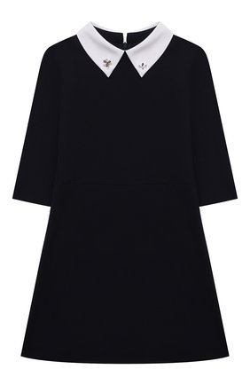 Детское платье DAL LAGO темно-синего цвета, арт. R256/8111/13-16   Фото 1