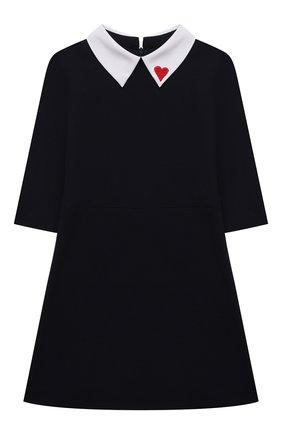 Детское платье DAL LAGO темно-синего цвета, арт. R253/8111/4-6   Фото 1