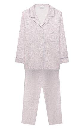 Детская хлопковая пижама LA PERLA светло-розового цвета, арт. 55091/8A-14A   Фото 1