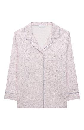 Детская хлопковая пижама LA PERLA светло-розового цвета, арт. 55091/8A-14A   Фото 2