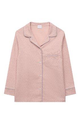 Детская хлопковая пижама LA PERLA розового цвета, арт. 55391/8A-14A   Фото 2