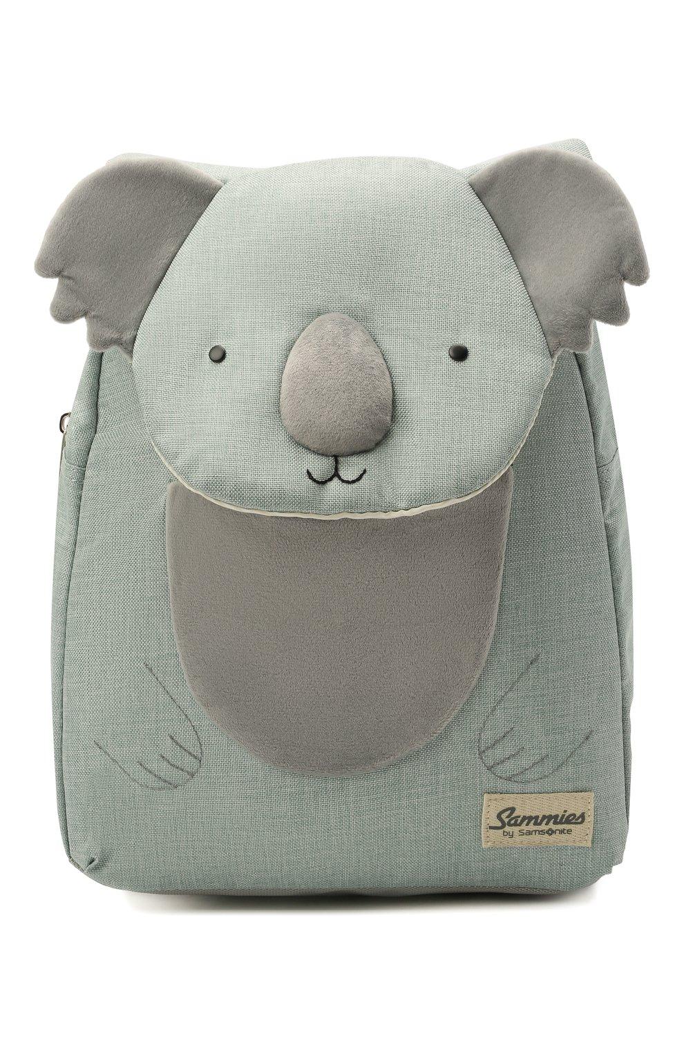 Детская рюкзак happy sammies SAMSONITE светло-зеленого цвета, арт. CD0-14038   Фото 1 (Материал: Текстиль)