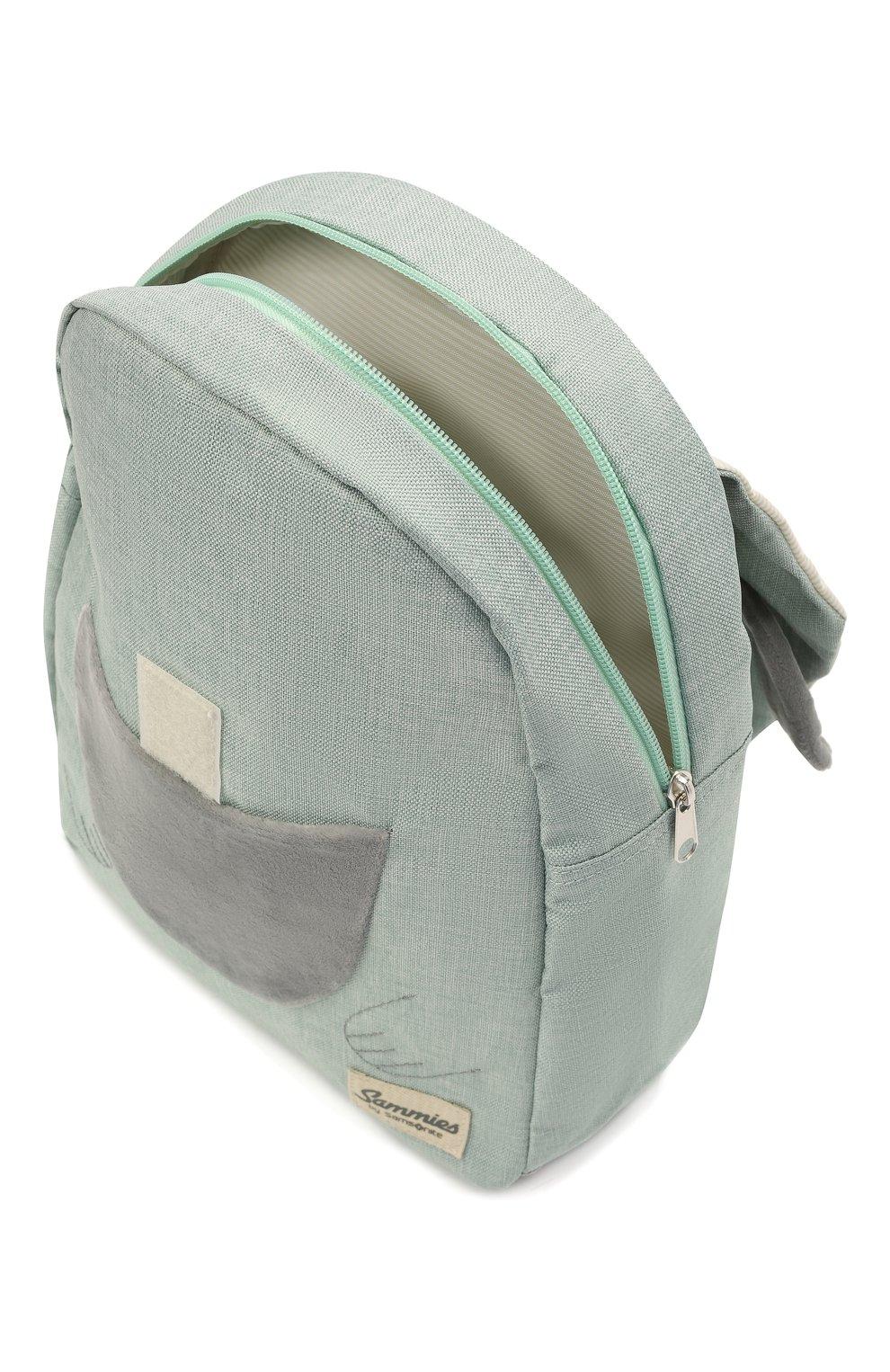 Детская рюкзак happy sammies SAMSONITE светло-зеленого цвета, арт. CD0-14038   Фото 3 (Материал: Текстиль)
