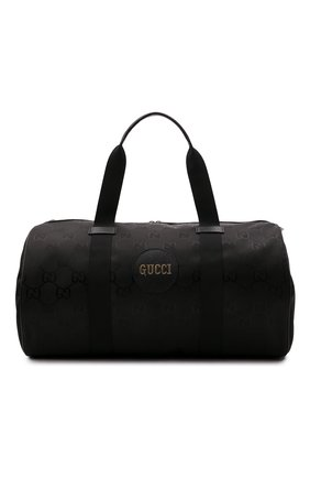 Мужская текстильная дорожная сумка off the grid GUCCI черного цвета, арт. 658632/H9HVN   Фото 1