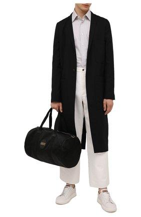 Мужская текстильная дорожная сумка off the grid GUCCI черного цвета, арт. 658632/H9HVN   Фото 2