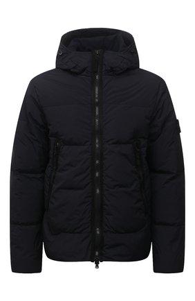 Мужская пуховая куртка STONE ISLAND темно-синего цвета, арт. 751540123 | Фото 1