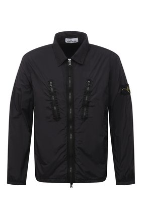 Мужская куртка STONE ISLAND черного цвета, арт. 751510523 | Фото 1
