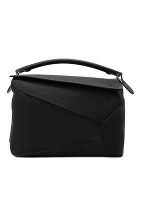 Мужская сумка puzzle large LOEWE черного цвета, арт. B510140X01 | Фото 1